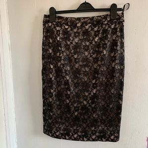 Ted Baker London Lace Pencil Skirt
